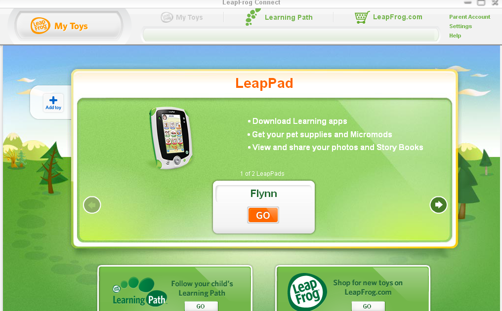leapPad Owners SA: How to buy games from the app center