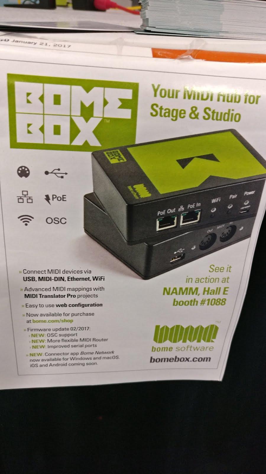 Volterock Review: NAMM 2017: Bomebox