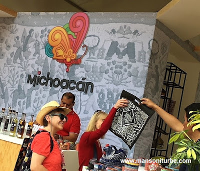 Michoacán at Comali, Festival of the Mexican Cuisine in Mexico City