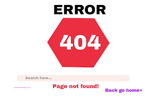Error 404 page not found image