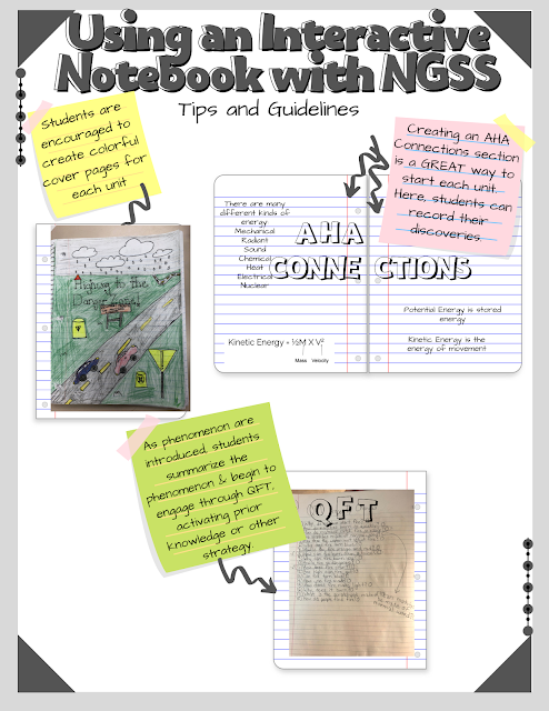NGSS 5E Interactive Notebook