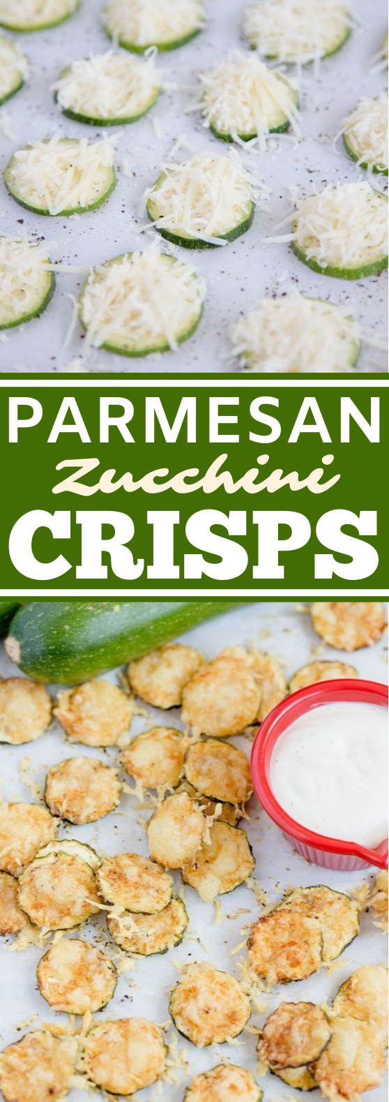 Parmesan Zucchini Crisps #healthy #snacks #easy #lowcarb #glutenfree