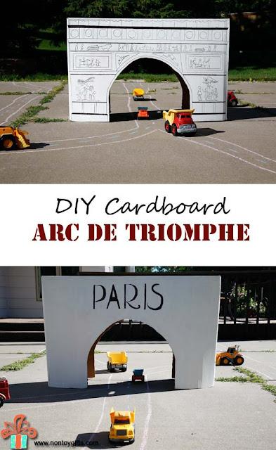 http://nontoygifts.com/cardboard-arc-de-triomphe/