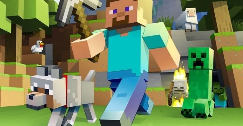 How to make a pickaxe in Minecraft