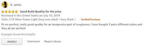 Edith Glasses reviews