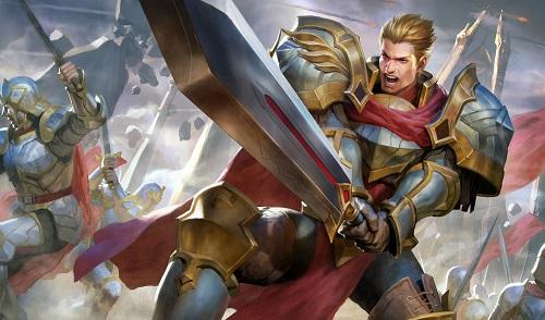Arthur kết hợp và bằng hữu để ăn quái rừng, tích lũy Trải Nghiệm với vàng cho tất cả đội