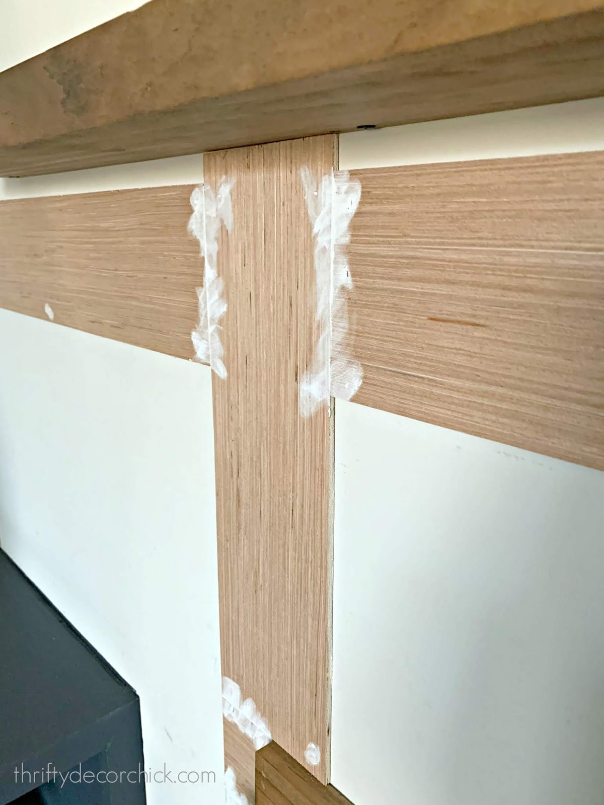 How to cover holes and seams on trim work