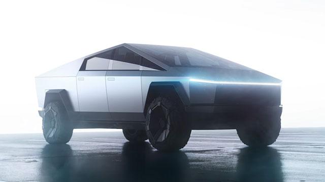 كشف النقاب رسميا عن سيارة تسلا سايبرتروك الجديدة