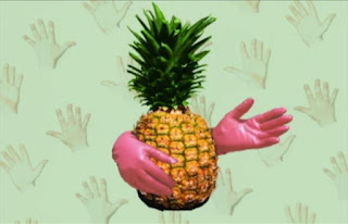 Do pineapples have hands. No, but you use your hands to eat a pineapple. Sesame Street Elmo's World Hands Quiz