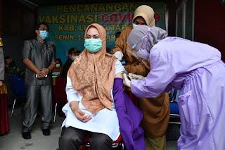 Proses Screening Lancar, IDP Jadi Penerima Pertama Vaksin Covid-19 di Luwu Utara