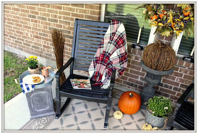 Fall Porch-BalsamHill-Twig Pumpkin-From My Front Porch To Yours