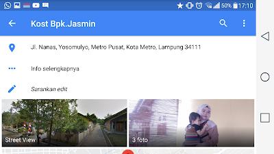 kost bp jasmin Tempat Kost Terdekat Kampus IAIN Metro Dan Um Metro