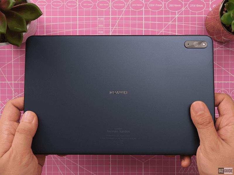 Huawei MatePad still has a premium design at a midrange price