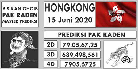 Prediksi Togel Hongkong Senin 15 Juni 2020 - Pak Raden
