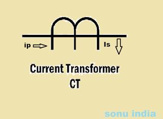 current transformer symbol