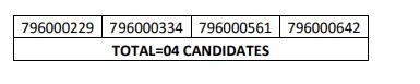 HPSSC  Junior Engineer (Mechanical) Post Code: 796 Result 2021