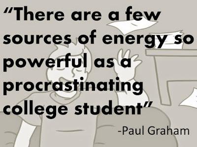 stop procrastinating quote