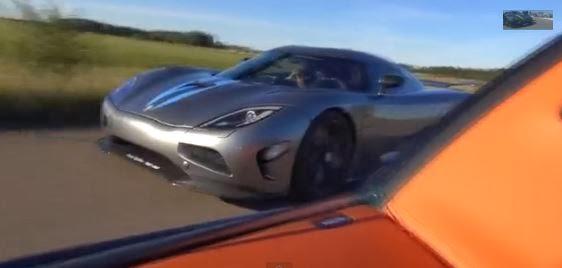 video: bugatti veyron vitesse vs. koenigsegg agera r