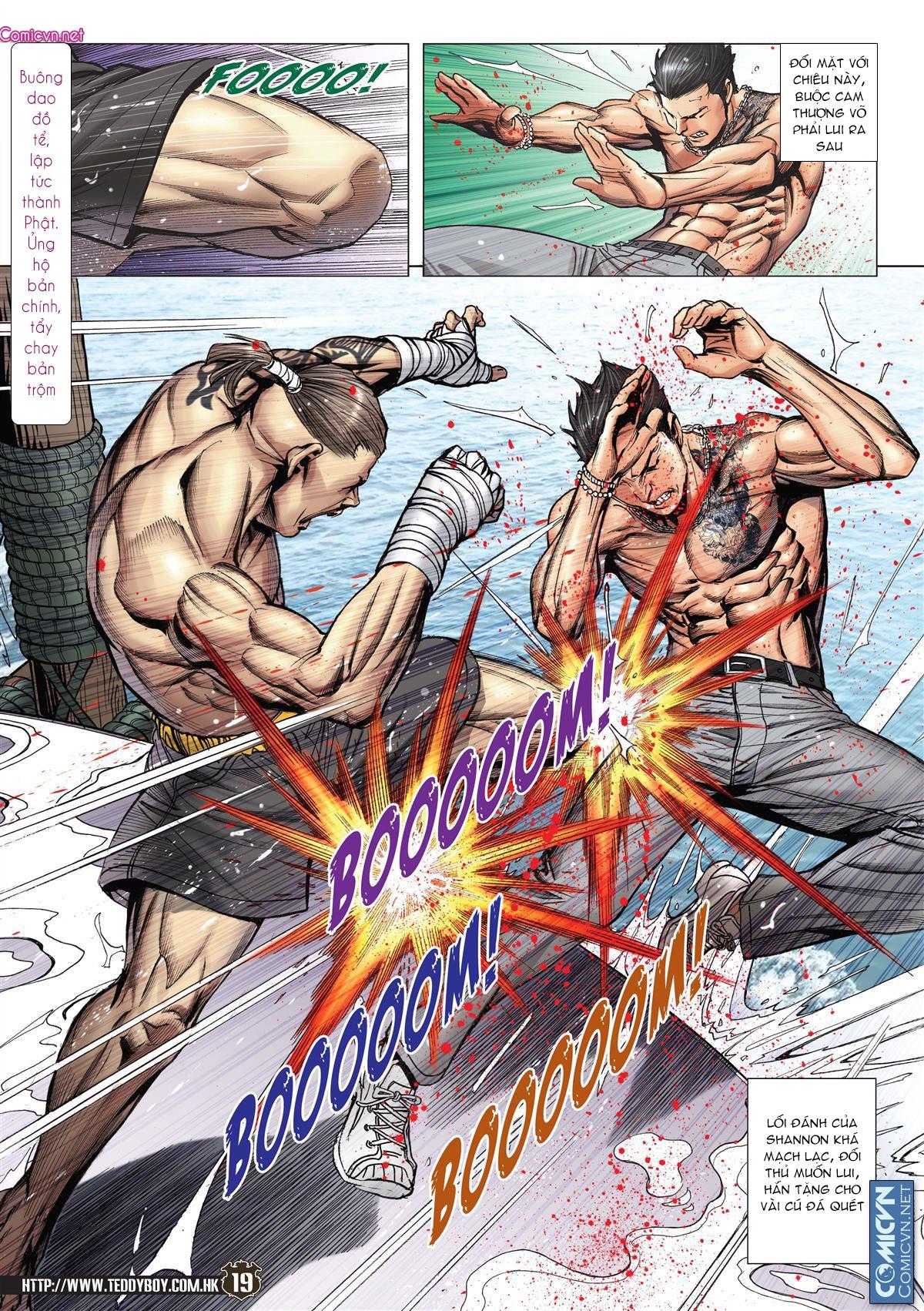 Người Trong Giang Hồ chapter 2143: ác chiến vua muay thai trang 17