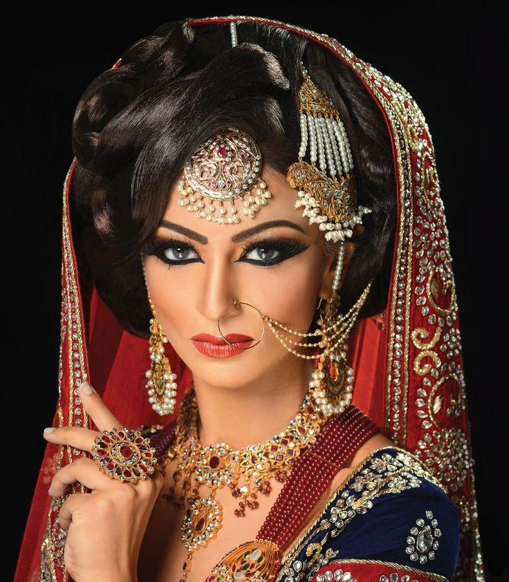 Asian Bridal Hair Make Up Artist London Hd: Dulhan Makeup Photo Hd