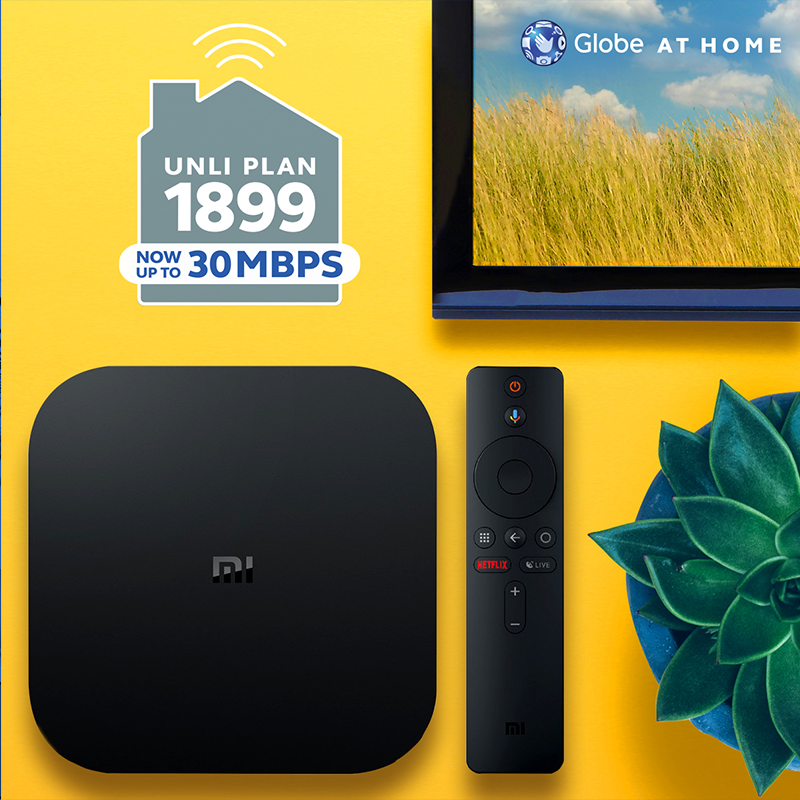 UNLI Plan 1899 comes with a Xiaomi Android TV Box