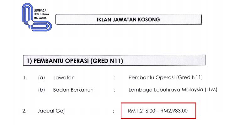 Jawatan Kosong di Lembaga Lebuhraya Malaysia LLM 2020