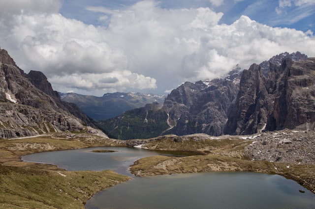 Rundtour Drei Zinnen - Dreizinnenhütte  Wanderung Sextner Dolomiten  Wandern Südtirol  Tourenbericht Tre Cime di Lavaredo  GPS-Track 12