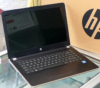 Laptop HP 14-bs009tu Intel Pentium Bekas Fullset