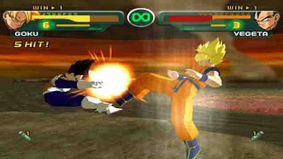Download Game Dragon Ball Z Budokai ISO PS2 (PC)