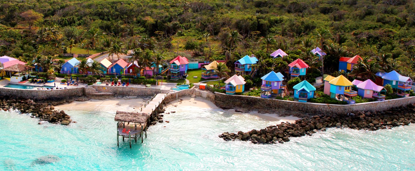 Comp Point Beach Resort On Nau Is A Collection Of Seaside Huts With Local And Caribbean Music History
