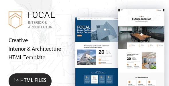 Architecture and Interior Design Premium Template