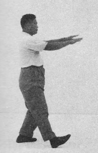 Tai Chi Chuan (Square Form) 54. Boxing The Ears