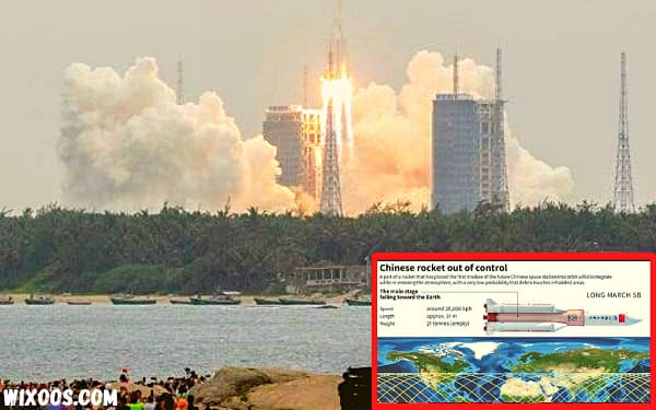 Chinese rocket falls back to Earth: The chances it will reach us