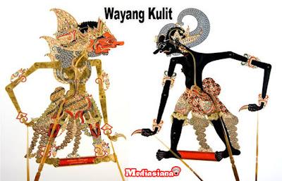 wayang kulit asli indonesia