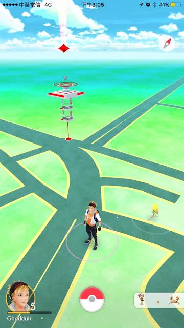 2 - 鬼月不要玩命│千萬不要前往台中PokémonGO路邊圍籬河南路道館,小心罰單伴隨你