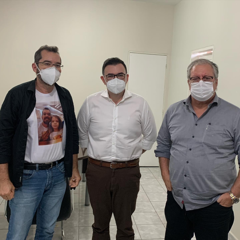 Raniery se reúne com Fábio Rocha e discute ações em favor das pessoas com doenças raras