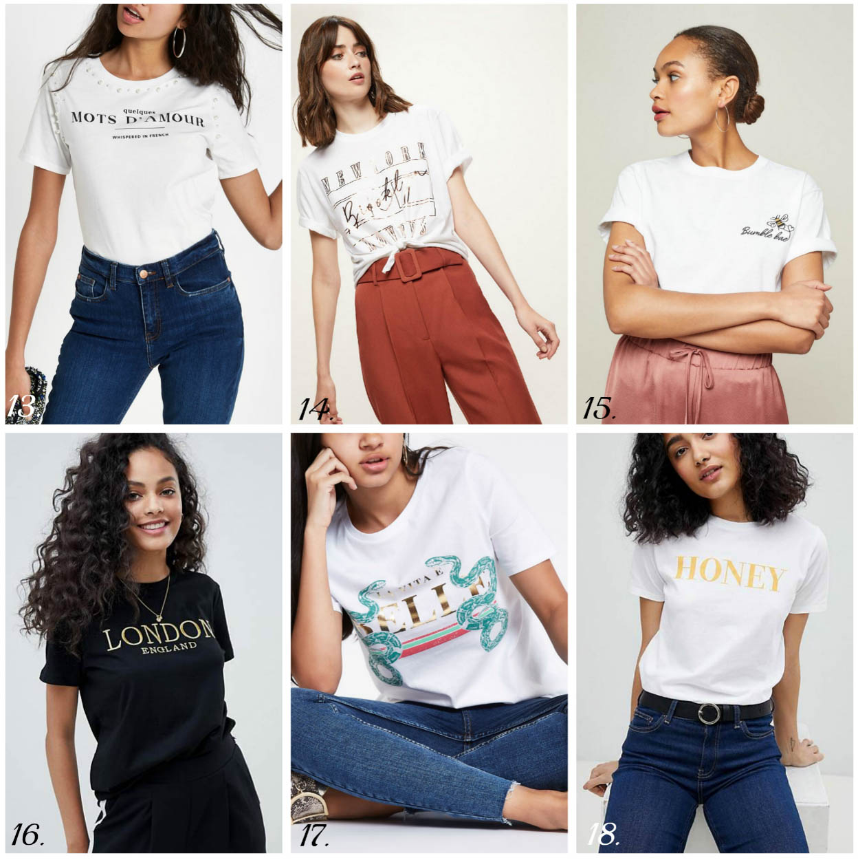 How To Style Slogan Tees