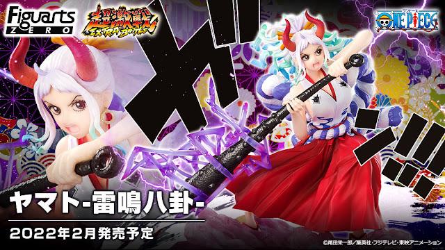 One Piece – Yamato -Thunder Bagua- Figuarts Zero [Extra Battle], Bandai Spirits / Tamashii Nations