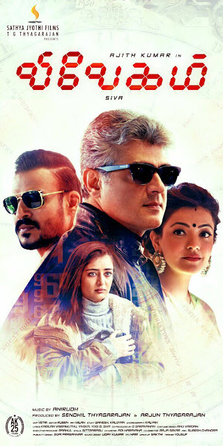 Vivegam Tamil Movie New Posters