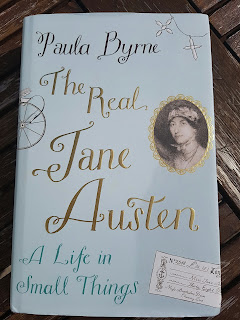 Book cover: The Real Jane Austen: A Life in Small Things by Paula Byrne
