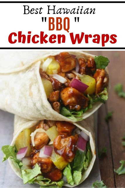 Best Hawaiian BBQ Chісkеn Wrар #Best #Hawaiian #BBQ #Chісkеn #Wrар Healthy Recipes For Weight Loss, Healthy Recipes Easy,