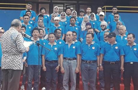 Hayono Isman Kukuhkan FORMI Sumatera Barat