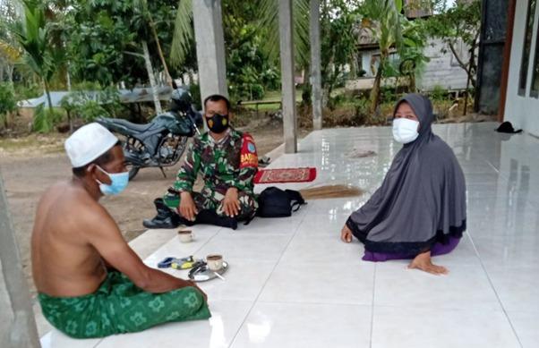H. Ahmad Berterima Kasih Pada TNI Atas TMMD Ke-111 Kodim 1207/Ptk di Dusun Maju Jaya