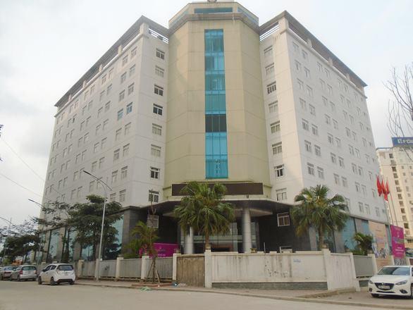 Trụ sở thứ hai của Hội Nhà báo Việt Nam trên phố Dương Đình Nghệ, Hà Nội