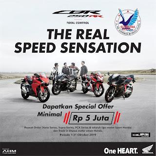 Promo Sepeda Motor Honda CBR150R Banyuwangi
