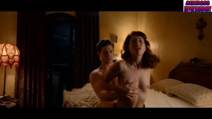 Laura Harrier, Samara Weaving nude scene - Hollywood s01 (2020) HD 720p