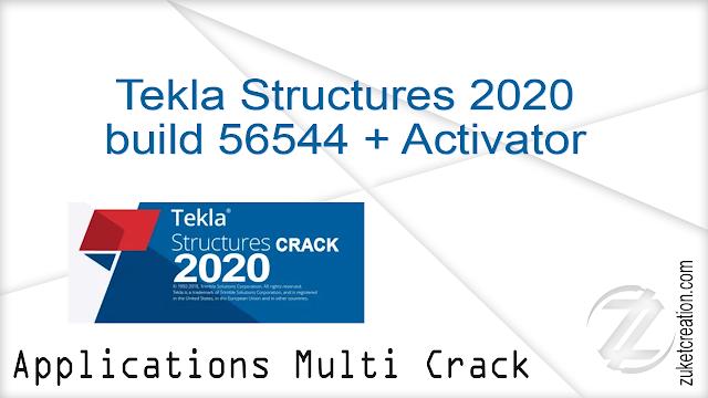 Trimble Tekla Structures 2020 build 56544 + Activator