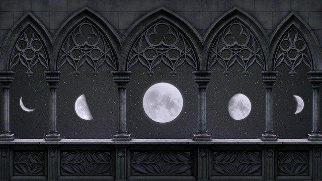 Macam bentuk bulan