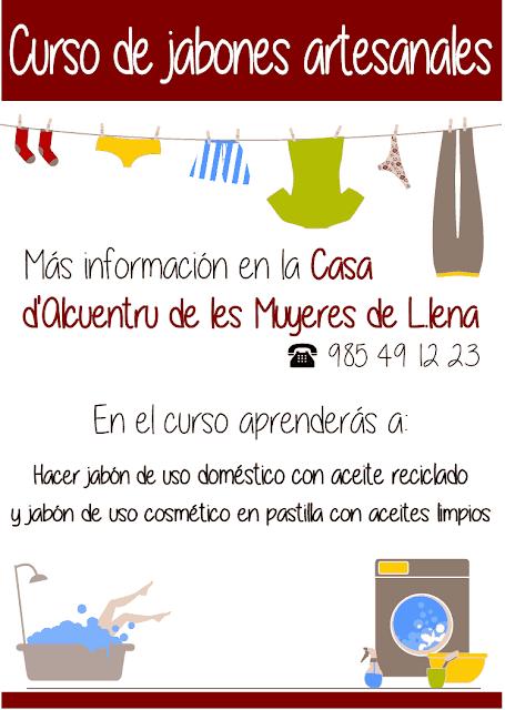 Curso presencial de iniciación a los jabones artesanales - Lena - Asturias: se aprenderá a hacer jabón para uso doméstico y cosmético
