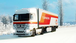 Turners Ltd pack skin for Mercedes Actros 2009